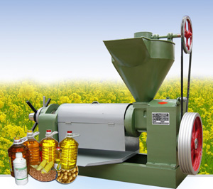 Vegetable Oil Expeller Press