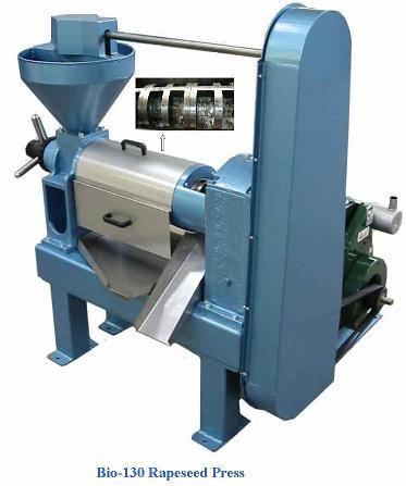 bio-130 oil press