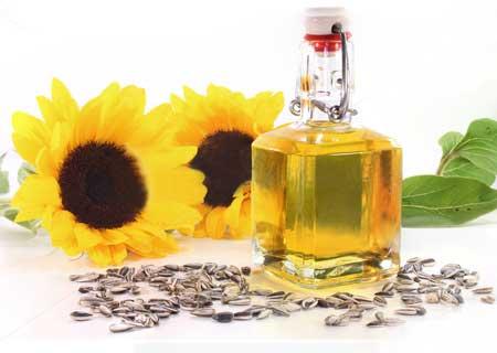 press sunflowers oil